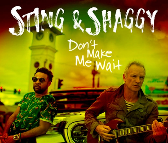 """Don´t Make Me Wait"", lo nuevo de Sting & Shaggy"