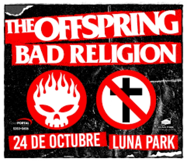 Música: The Offspring y Bad Religion en Bs As
