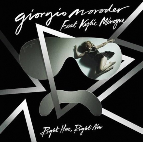 "Giorgio Moroder y Kylie Minogue juntos en ""Right Here, Right Now"""