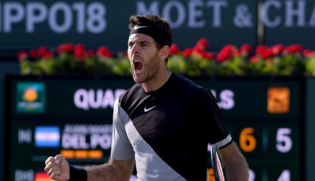 Deportes: Del Potro se consagro campeon en Indian Wells